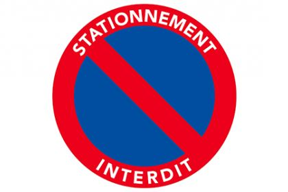 Interdiction de stationnement