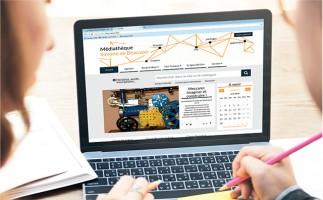 Un nouveau site Internet pour la médiathèque Simone-de-Beauvoir