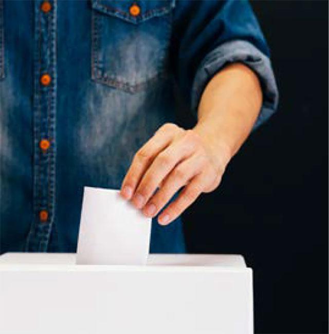 Inscription sur listes électorales