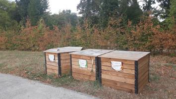 Un composteur de quartier au parc de Soule