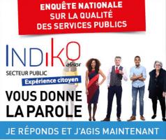 Enquête nationale sur la qualité des services publics