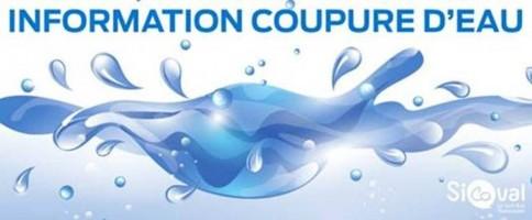 Problème d'alimentation en eau potable