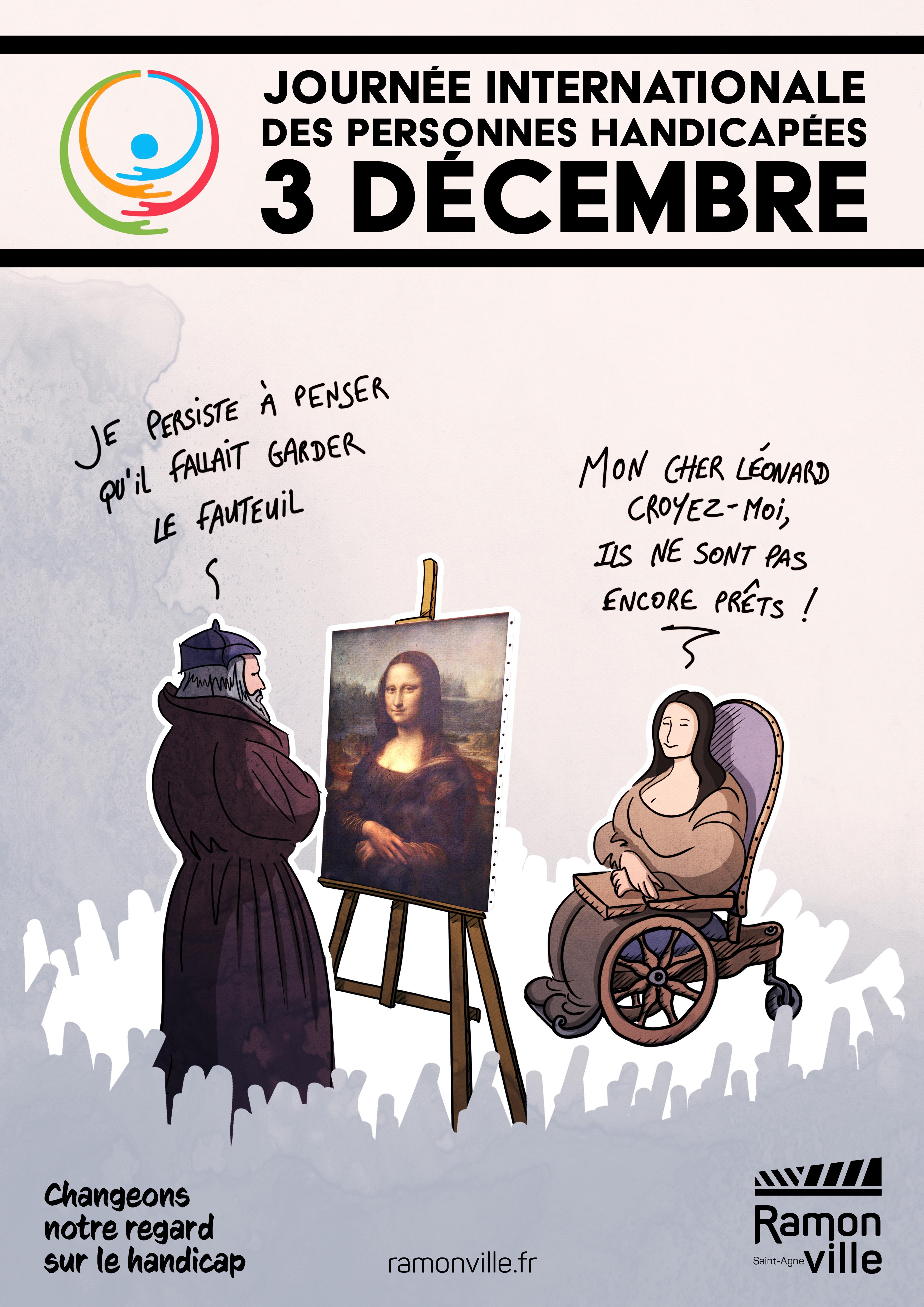 3 décembre - Journée internationale des personnes handicapées