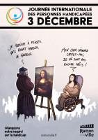 3 décembre 2020 - Journée internationale des personnes handicapées