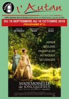 Programme Cinéma du 19 septembre au 16 octobre 2018