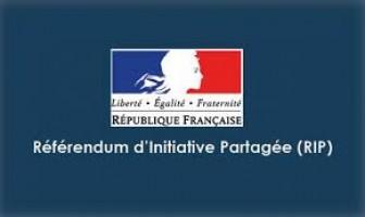 Proposition de loi référendaire sur Aérodromes De Paris(ADP)