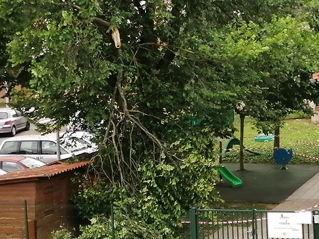 Violent orage du 19 juin 2019
